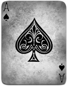 Framed Print - Vintage Style Ace Of Spades Playing Card (Picture Poster Art) & Garden Playing Card Tattoos, Playing Cards, Ace Of Spades Tattoo, Spade Tattoo, Card Tattoo Designs, Ace Card, Black Artwork, Amazing Drawings, Cool Backgrounds