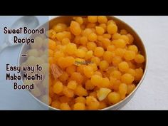 Sweet Boondi Recipe for Diwali! It's easy to make and does not involve making chasni with tar/string! #diwalisweets #meethiboondi #mithai #indianrecipes #easyrecipes #indiancuisine #magicofindianrasoi