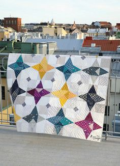Shine bright quilt ~ Love Patchwork & Quilting Magazine