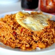 New to Indonesian food? Start with the nasi goreng (fried rice).
