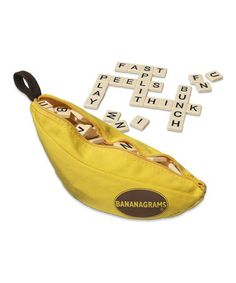 Take a look at this Bananagrams Game by Bananagrams on #zulily today! Grabbed a few games for our #homeschool to give away at #Christmas!!