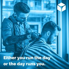 """""""Either you run the day or the day runs you."""" -Jim Rohn #quotes #quoteoftheday"""