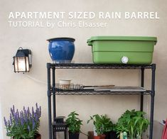A simple step by step guide by @chriselsasser. ** Before starting you can check your local rain-water collection regulations at http://www.enlight-inc.com/blog/?p=1036