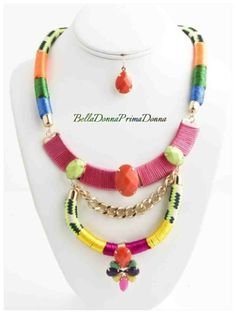 *NEON IS THE NEW BLACK* Get this BEAUTIFUL PIECE at www.BellaDonnaPrimaDonna.com