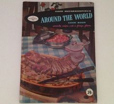 Around The World Cookbook Vintage 1958 Good Housekeeping Cook Book Ethnic Cooking Cuisine by aroundtheclock on Etsy