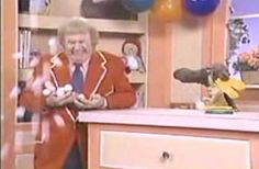 Remember when...Mr Moose would make the ping pong balls fall on Captain Kangaroo