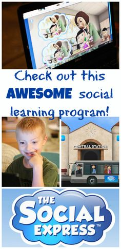 We so need this!! Two Keys to a GREAT Morning with The Social Express. A way for kids to learn social cues and navigate tricky social situations? Sign me up!