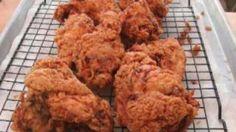 Homemade fried chicken