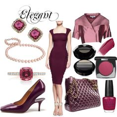 """Elegant/Classic Toned Winter"" by prettyyourworld on Polyvore"