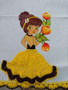 Crochet Applique Patterns Free, Crotchet Patterns, Sewing Patterns Free, Thread Crochet, Crochet Crafts, Crochet Dolls, Crochet Pillow Cases, Confection Au Crochet, Cotton Decor