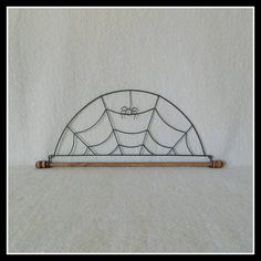 Tiki Hut Quilt Hanger ~ Gray Wire 6 Inches Wide ~ Made in the USA ... : wire quilt hangers - Adamdwight.com