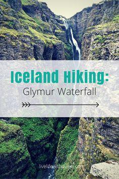 Iceland Hiking - Glymur Waterfall