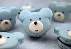 Beary Cute Macarons Recipe & Tutorial.