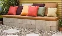 Patio Ideas On A Budget: A compilation of images. But as for the cover photo? Brilliant! We feel a project coming on. #CementBlocks #ByGeorgeWe'veGotIt!Click to check a cool blog!Source for the post: Click