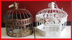 Como Fazer Uma Gaiola de Decoração ➜ Gaiola Decorativa Passo a Passo em ...