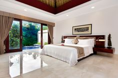 Deluxe Terrace Villa - Bedroom - BALI..... Oh my goodness