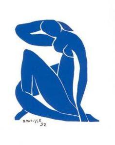 Henri Matisse Nu bleu II, 1952