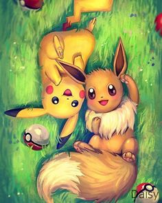 Full Square/Round Drill DIY Diamond Painting Pokemon diamond painting Pikachu Eevee Embroidery Cross Stitch Mosaic Home Decor Gift – Pokémon Games – Pokémon Anime – Pokémon GO Anime Pokemon, Pokemon Eevee, Pokemon Fan Art, Anime Kawaii, Pokemon Full, Fanart Pokemon, Eevee Evolutions, Pokemon Stuff, Pikachu Art