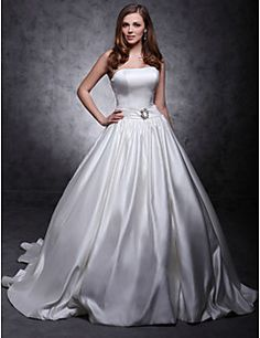 Lanting Bride® A-line / Ball Gown / Princess Apple / Hourglass / Inverted Triangle / Misses / Pear / Petite / Plus Sizes / Rectangle – AUD $ 572.00