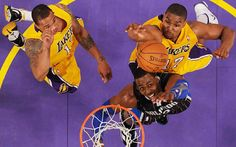 With Dwight Howard, L.A. becomes an even bigger title threat. Philly looks a playoff lock with Andrew Bynum (17).