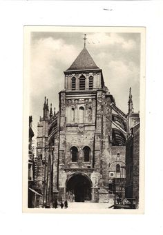 CPA - SAINT QUENTIN (02) - LA BASILIQUE - REAL PHOTO