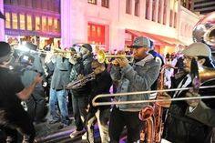 Start a damn brass band.