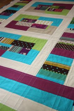echino quilt 06 by diana scl, via Flickr