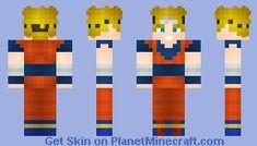 Super Saiyan God Super Saiyan Goku Minecraft Skin Fnaf Anime - Skins para minecraft pe de goku