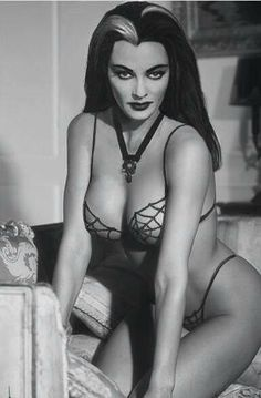Yvonne De Carlo - Mrs. Lily Munster! She probably could have pulled this off but this is fake as hell.