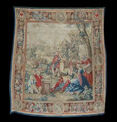 Rare & Magnificent 17th Century Flemish Tapestry For Sale   Antiques.com   Classifieds
