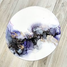 New painting abstract watercolor alcohol inks ideas Alcohol Ink Crafts, Alcohol Ink Painting, Alcohol Ink Art, Acrylic Pouring Art, Acrylic Art, Doodle Drawing, Art Diy, Epoxy Resin Art, Contemporary Abstract Art