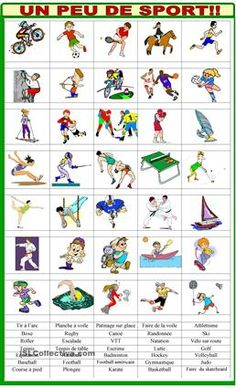 Halloween Vocabulary in English Halloween Vocabulary, Halloween Worksheets, French Worksheets, Worksheets For Kids, Teaching French, Teaching English, English Class, Sports Crossword, Flags Europe