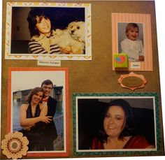 Family scrapbook page