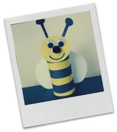 Kids Spring Crafts - Be all the buzz this spring with a Bumble Bee! Halloween Crafts For Toddlers, Spring Crafts For Kids, Easy Crafts For Kids, Summer Crafts, Toddler Crafts, Diy For Kids, Daycare Crafts, Bee Crafts, Classroom Crafts