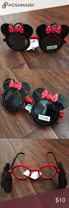 Minnie Mouse Girl Sunglasses Minnie Mouse Sunglasses for girl. Very cute. New with tag. Accessories Sunglasses