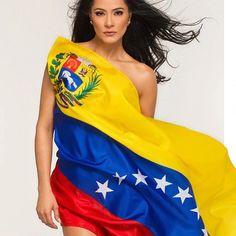 La polémica foto de Norkys Batista con el tricolor nacional (+Foto) -