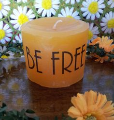 Check out this item in my Etsy shop https://www.etsy.com/listing/199612525/the-freebird-candle