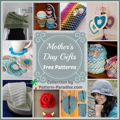 FREE patterns for Mother's Day.