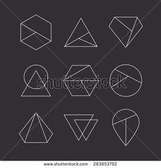stock-vector-set-of-hipster-icons-geometric-logo-283853702.jpg (450×470)