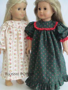 "Patriotic Reform Dress Set for American Girl 18/"" Doll Clothes Addy Kirsten Carol"