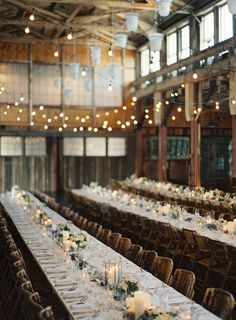 Warehouse wonder: http://www.stylemepretty.com/2015/08/15/reception-spaces-that-will-wow-your-guests/