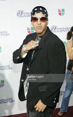 Daddy Yankee during 2005 Premios de la Juventud - Arrivals at University of Miami in Coral Gables, Florida, United States.