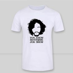 You Know Nothing Jon Snow  //Price: $ 47.00