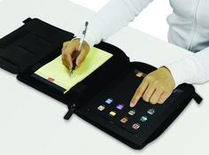 Custodia protettiva premium con stand ed organizer per iPad 2 - Nera | electromania.co prezzo 26.99€