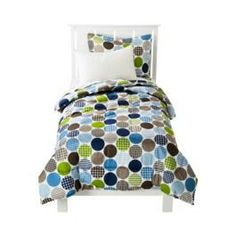 Adorable twin comforter set!