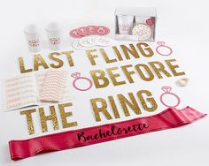 It's the last fling before the ring and our bachelorette party kit has everything you need to prepare for a memorable night!