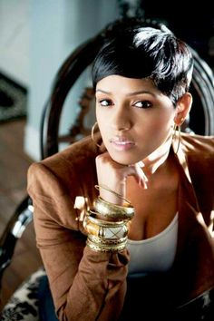 20 Best Short Hairstyles for Black Women | 2013 and just because I love RaVaughn.