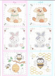 Cross-stitch Cute Block Designs for Baby, part 3... color chart on part 4....     Gallery.ru / Фото #13 - 126 - elena-72