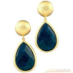 Meera Gemstone Earrings