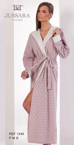 Pijama feminino Bordados Jussara 1249